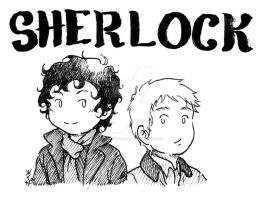 Sherlock and John by ART-RevolveR