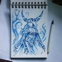 Instaart - Big horns by Candra