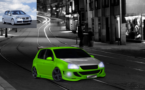 VW Golf Virtual Tuning by djlupix