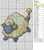179 - Mareep by Makibird-Stitching