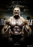 Royal Rumble 2012 Fantasy Poster by BiggertMedia