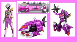 Dino Charge Riptide Ranger for EmiChannel by Greencosmos80
