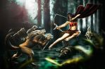 Epic red riding hood by Andprog