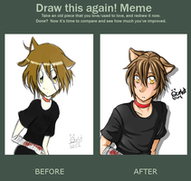 Draw This Again Meme by ocelot-girl