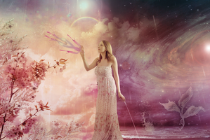 The creation of an inner universe, dream and depth by Blossom-Lullabies