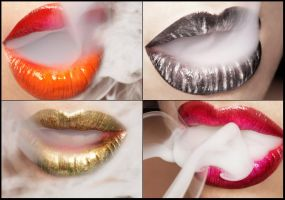 Lip series by batwife