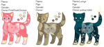 [OPEN] (1/3) Cat Adoptables~ Dot Theme #1 by aorsak