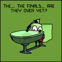 Finals? I'm DOOMED. by InkTheEchidna