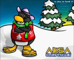 Airea At Club Penguin by chemapen