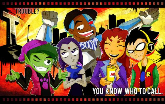 Teen Titans! by xeternalflamebryx