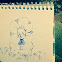 Flower Lady by onecola
