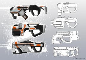 Weapons Concept 02 by CDodez