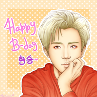 [B2ST] Happy Birthday Hyunseung~ by IperGiratina98