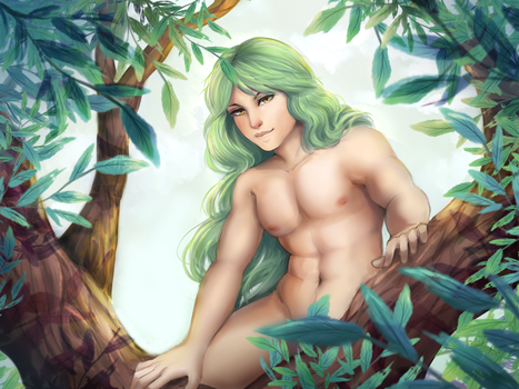 Between Leaves by Andreia-Chan