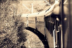 train...going nowhere by ElenaCute