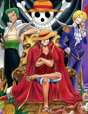 OnePiece_Luffy_The_Pirate_King