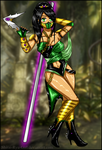 Jade MKX (my desing) by Shirai-Ryu-Girl