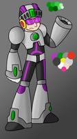 Issimo X - WIP Colors 3 by GreyScale9