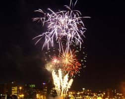 Canada Day Fireworks 2 by UltraRodimus