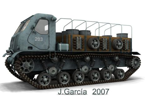 TRACKED TRUCK CONCEPT by CUTANGUS