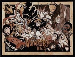 venture-color halftone by VASS-comics