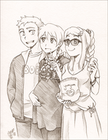 Reid family by meago