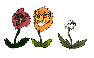 Dandy Lions Project WIP by Windicious