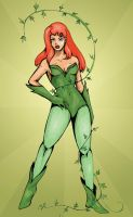 Poison Ivy by DinaCardillo