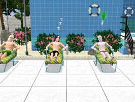 Rest by the pool ... by Lucius007