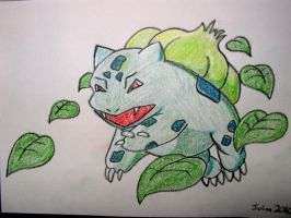 Bulbasaur by vivgxojo