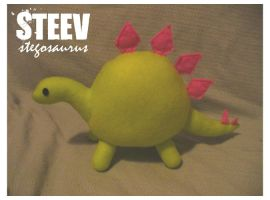Steev Stegosaurus by angelsarefascists