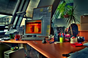 HDR - my new workplace by egorka84