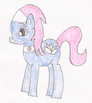 Lotus Blossom Pony Drawing by SoraJayhawk77