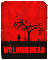 The Walking Dead Minimalist Poster by V-intage