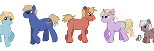 Nordic Ponies by Chary9