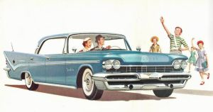 age of chrome and fins : 1959 DeSoto by Peterhoff3