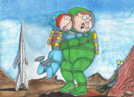 Weirdos From Another Planet by kiff57krocker