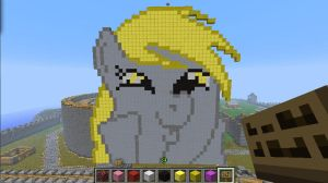 Minecraft WUBS Derpy Hooves by Stickgag