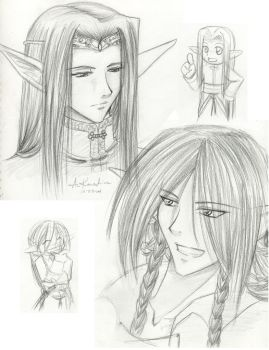 Elven Brothers by AniKawashima