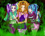 The Dazzlings (MLP HUMANIZATION) by Cryaoticisbest