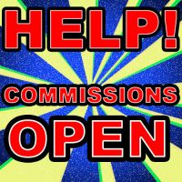 HELP! - Commissions Open by Stitchfan