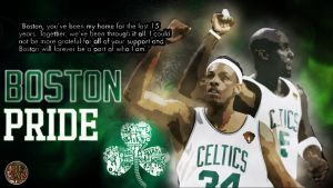 Paul Pierce and KG say thank you by PJosull