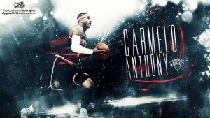 CARMELO ANTHONY Wallpaper by AlpGraphic13
