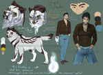 Judas Character Sheet (Updated info) by DarthAislin