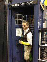 Discord Tardis (FanExpo Vancouver 2014 Pic) by GingerBaribuu