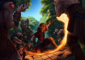 Trail of Fire by Darantha