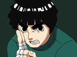 Rock Lee by ilovegorillaz