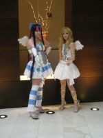 Panty and Stocking Cosplay by Lionofdemise