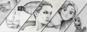 collection of my favorite drawings of 2013 by flak2013