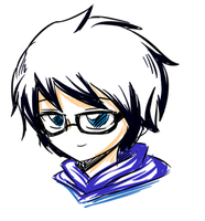 John Egbert sketch by Hero-of-Awesome